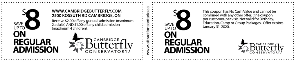 butterfly conservatory coupons cambridge