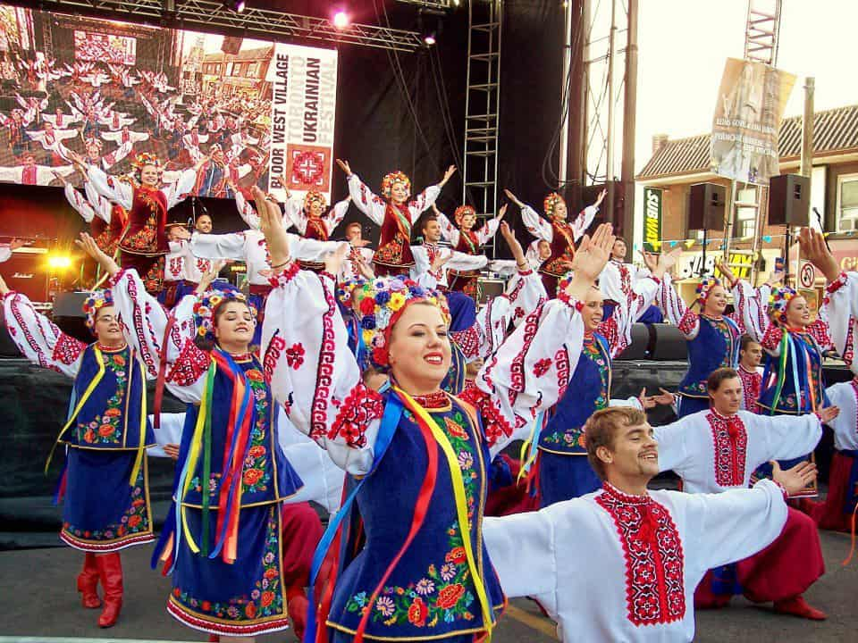 Bloor West Village Toronto Ukrainian Festival