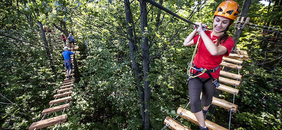 treetop trekking barrie zipline aerial park. Black Bedroom Furniture Sets. Home Design Ideas