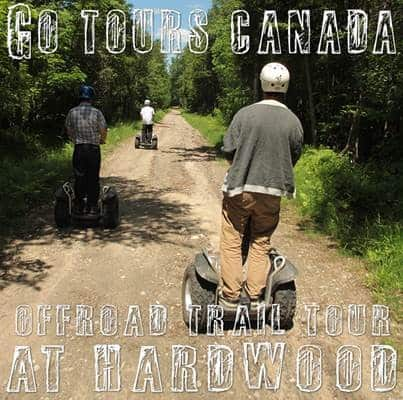 Go Tours Canada Launches Offroad Segway Tour At Hardwood Ski And Bike