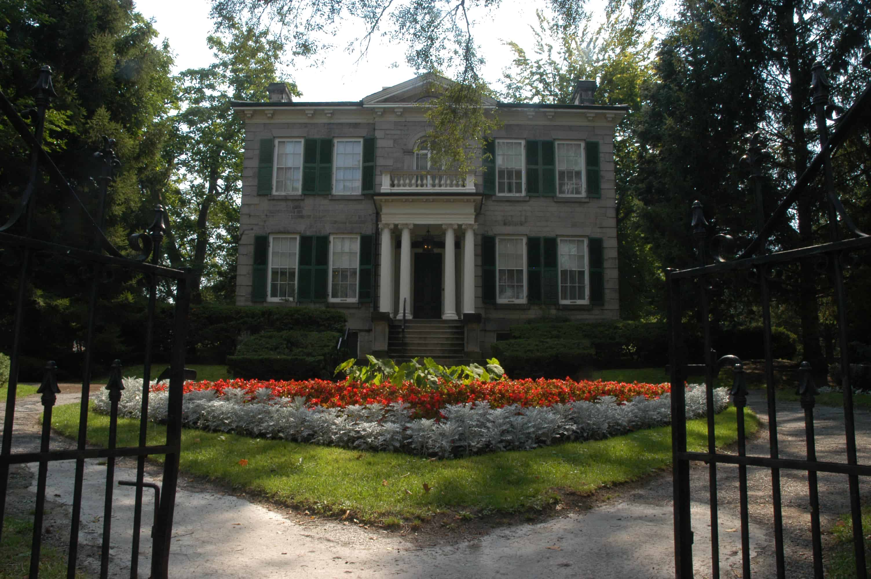 Whitehern Historic House Amp Garden Attractions Directory