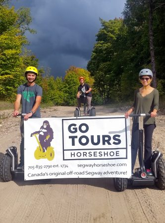 Go Tours Canada at Horseshoe Resort
