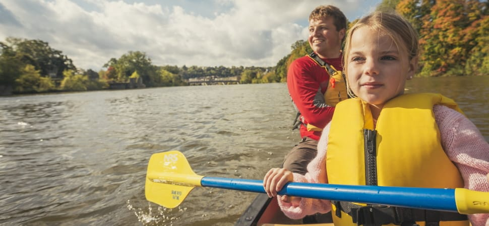 Canoe Trips on the Grand... You can take a lesson before you trip.
