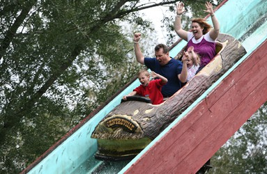 Centreville Log Flume Ride
