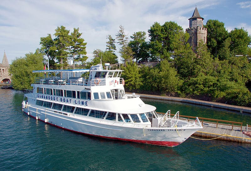 Gananoque Boat Line at Boldt Castle