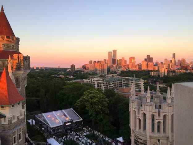 The View From The Towers At Casa Loma