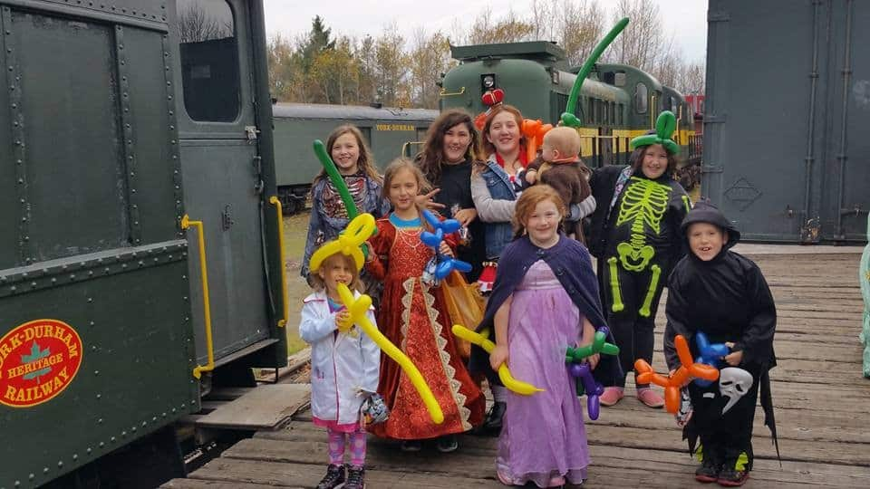 Ride The Halloween Train