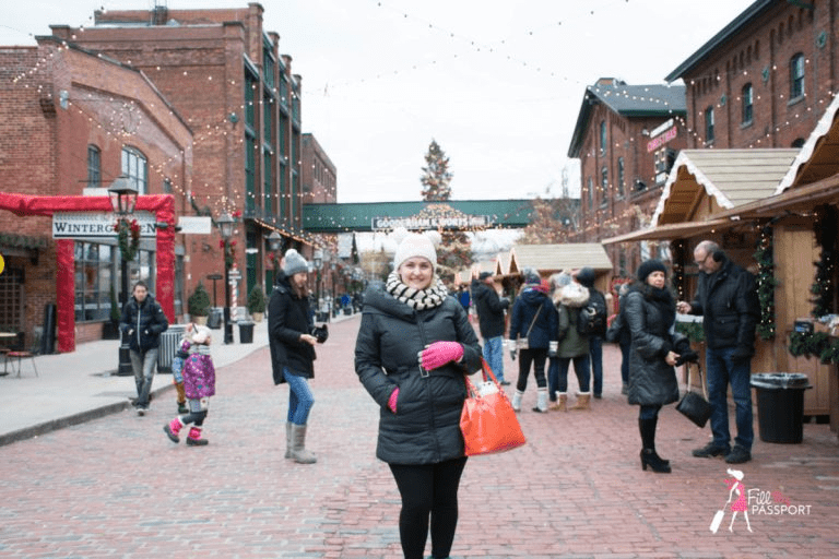 The Best Way To Enjoy The Toronto Distillery Christmas Market Is By Walking Tour