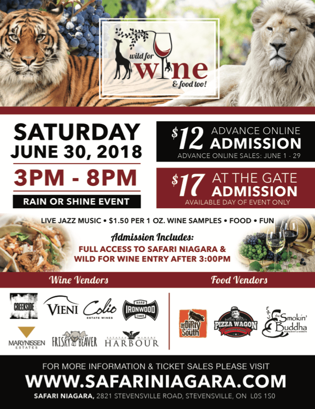 LION & TIGERS & WINE, OH MY!