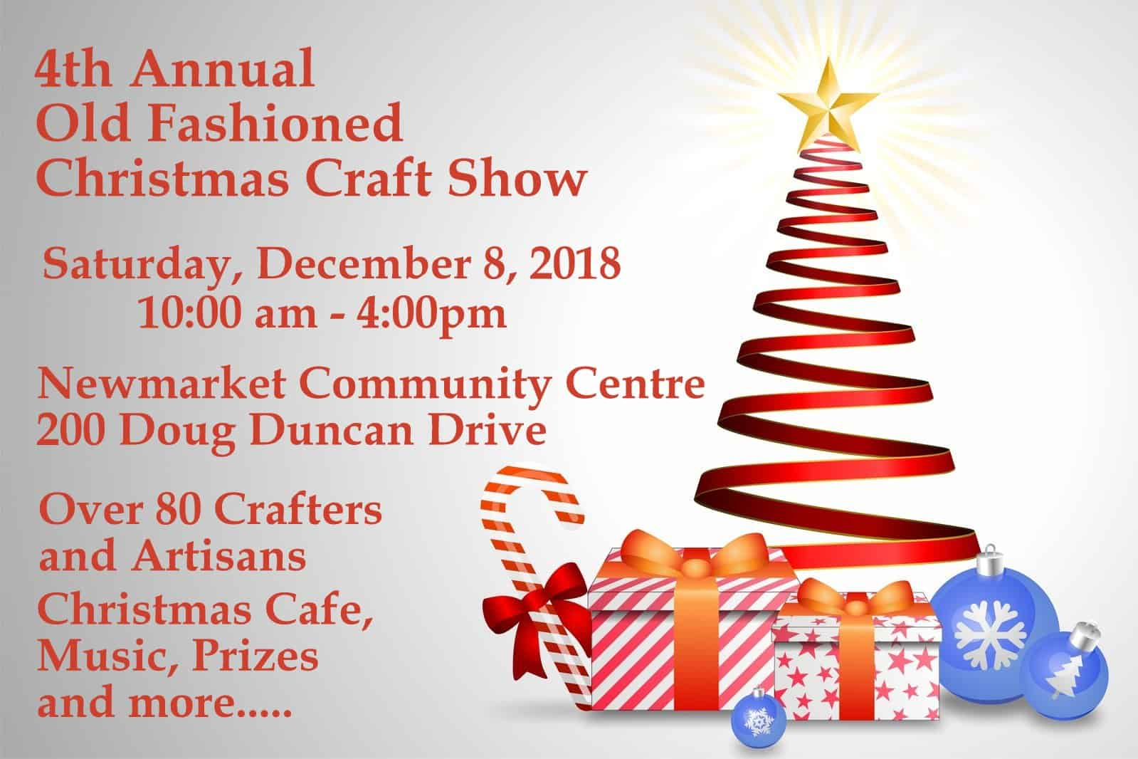 4th Annual Old Fashioned Christmas Craft Show - Attractions Ontario