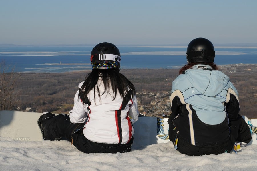 Hitting the slopes at Blue Mountain