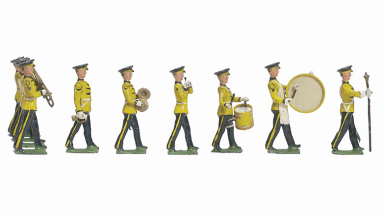 TOY SOLDIERS AT THE ROYAL ONTARIO MUSEUM