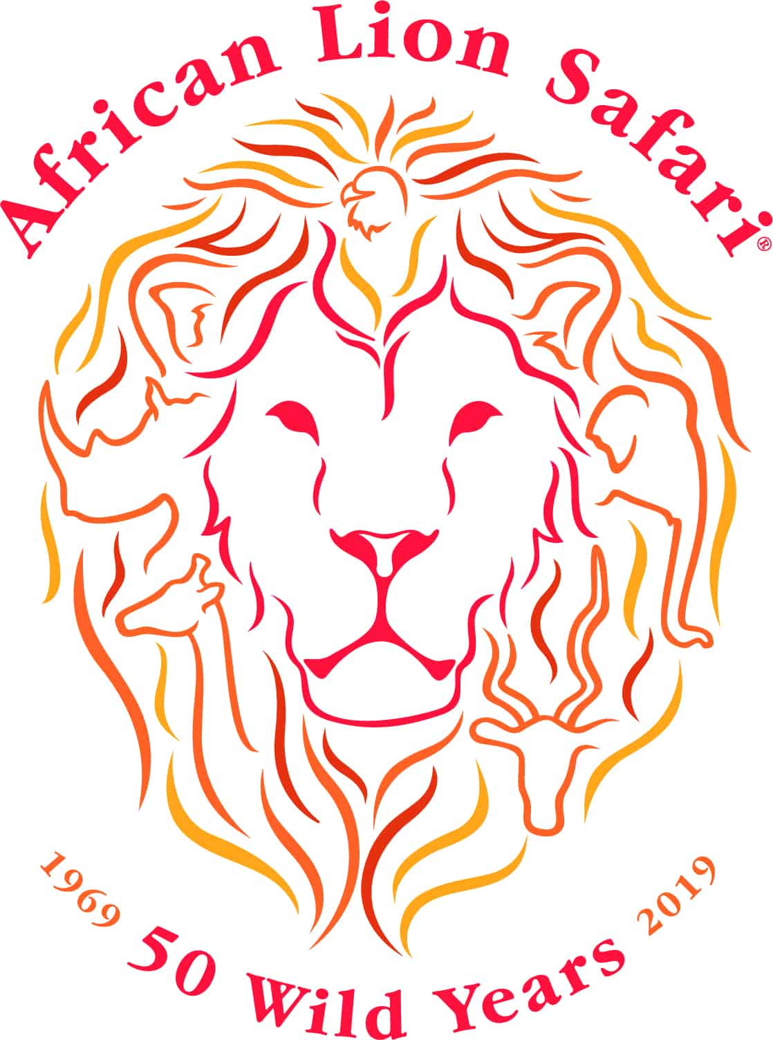 African Lion Safari 50 Logo
