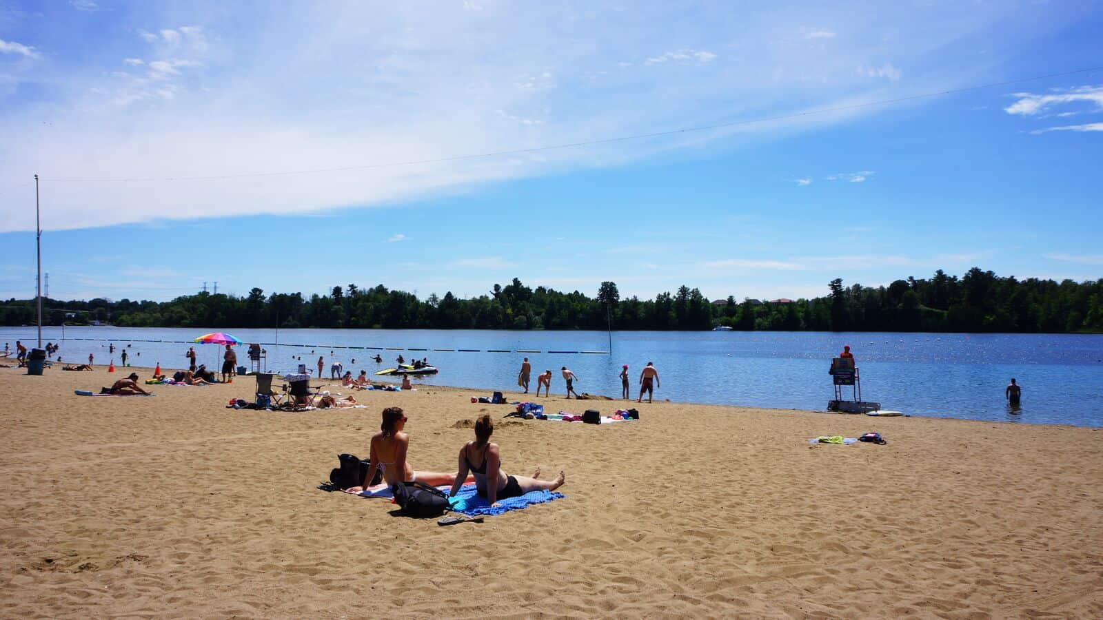 Mooney's Bay Beach