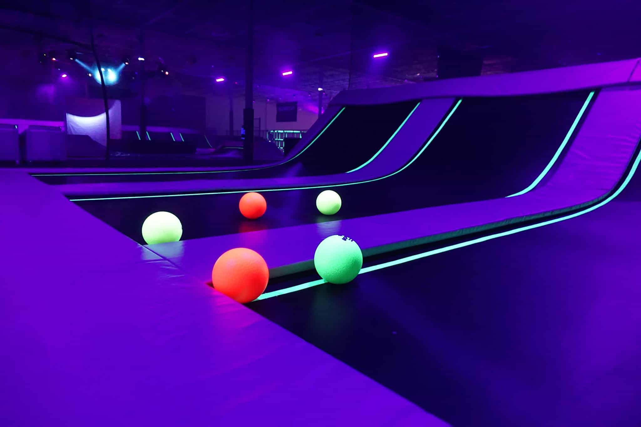 Neon Lights Dodgeball