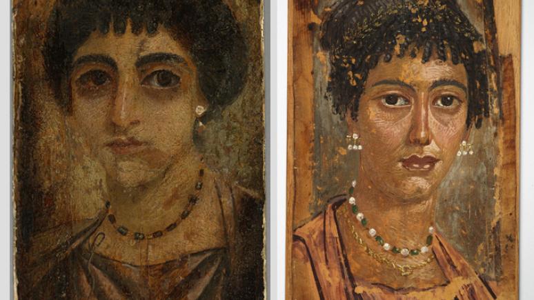 Fayum Mummy Portraits at the Royal Ontario Museum