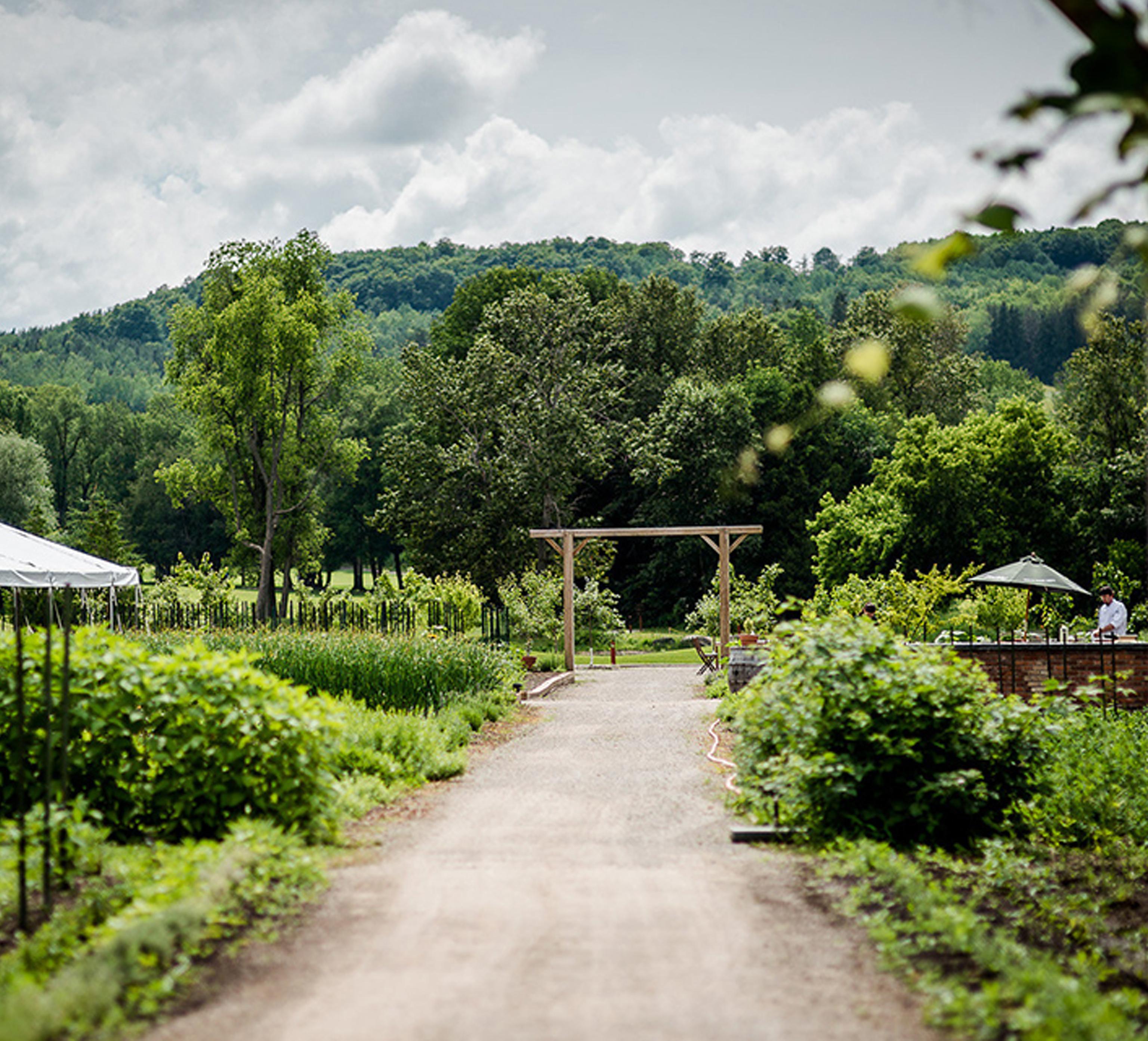 2-acre organic garden