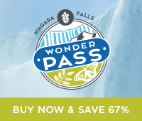 Niagara Parks Wonder Pass Button ad