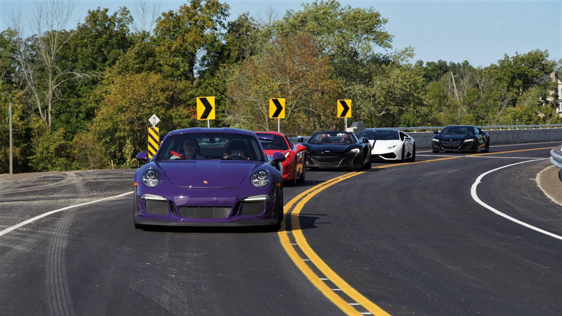 GT3 RS leading the pack