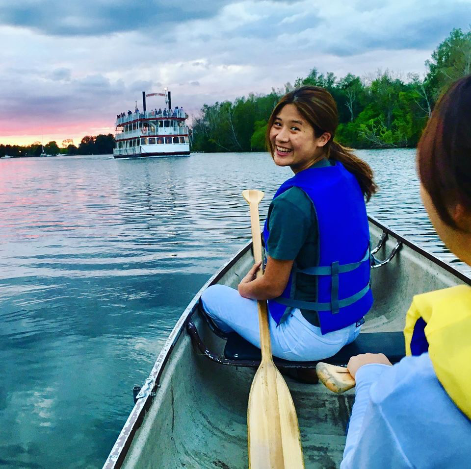 canoe tour of the toronto islands