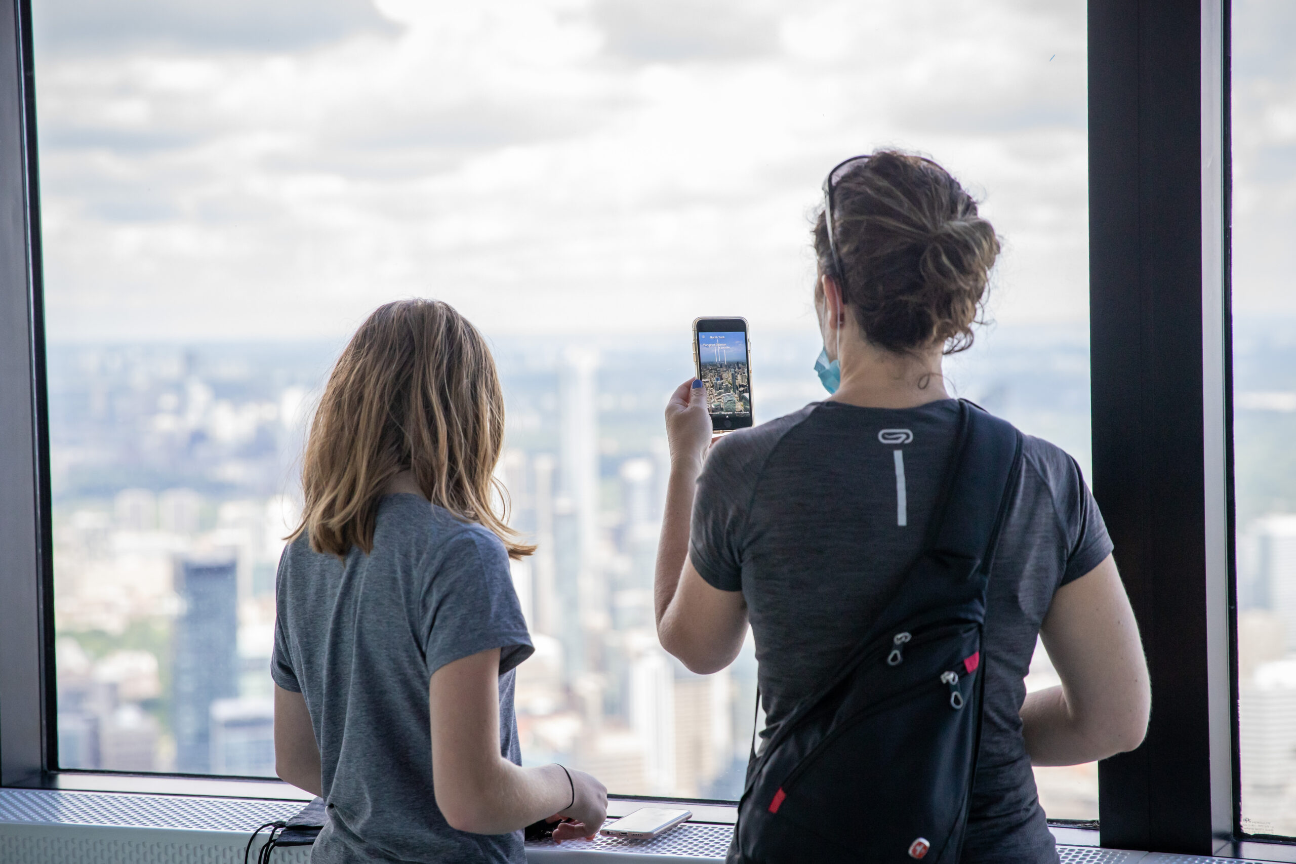 Download the CN Tower Viewfinder app